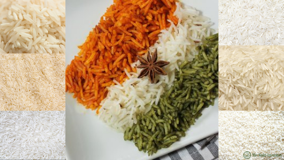 Varieties of Indian Basmati Rice