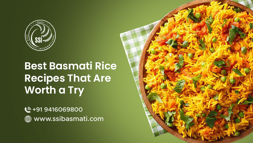 Best Basmati Rice Recipes That Are Worth a Try