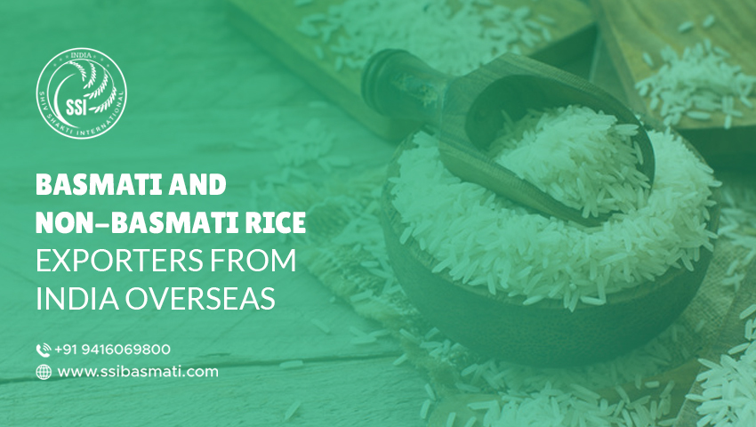 Basmati and Non-Basmati Rice Exporters From India Overseas