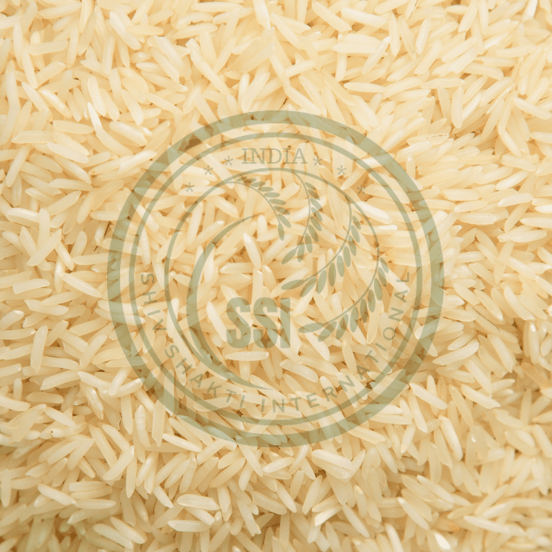 Organic Sharbati Steam Basmati Rice